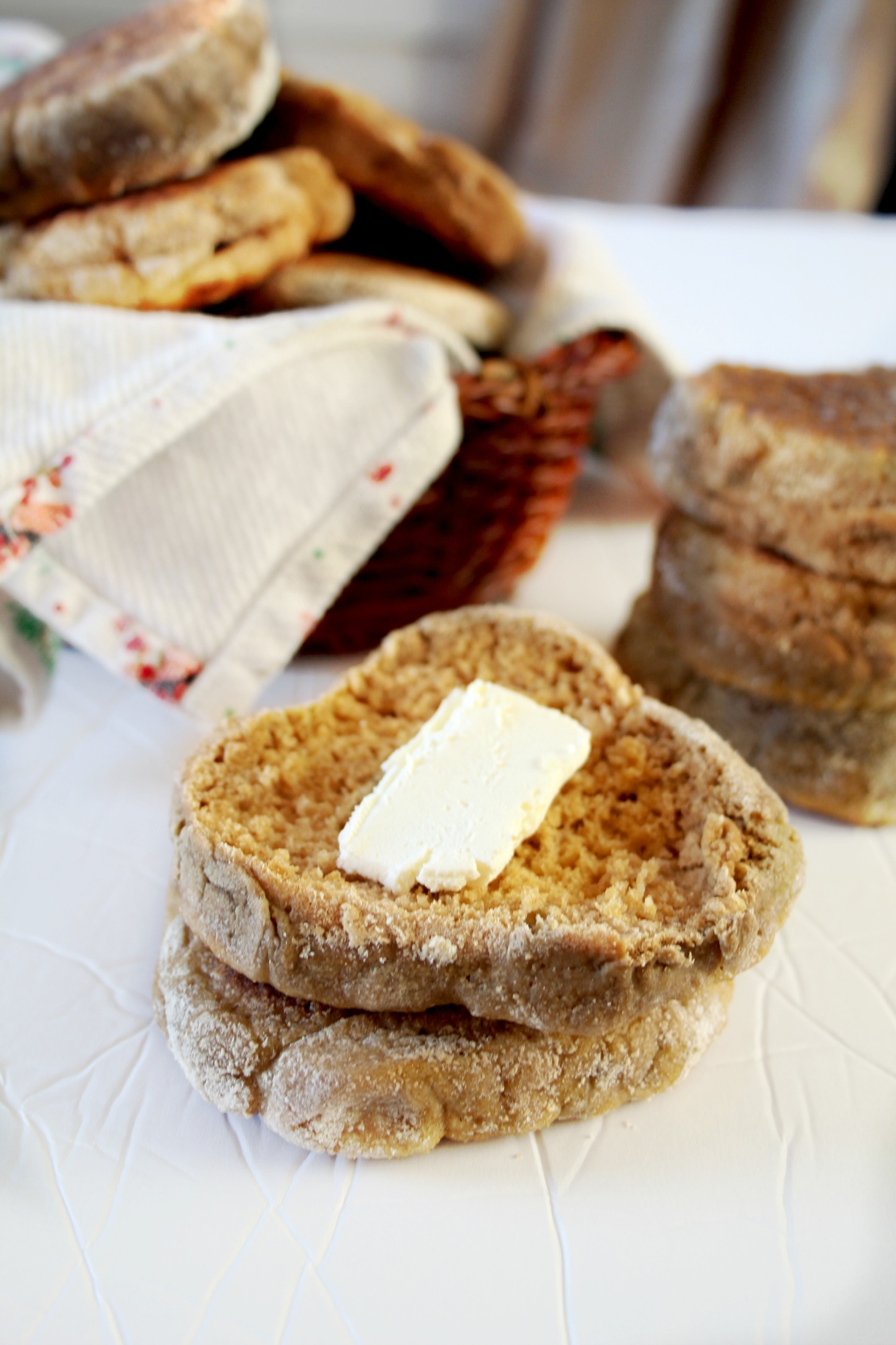 Authentic English Muffins